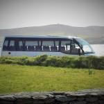Luxury Mini Bus on Tour near Dingle Bay Ireland