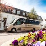 VIP Irish Touring Bus at Hotel