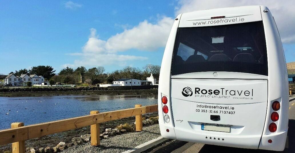 Luxury Mini Bus on Tour near Dingle
