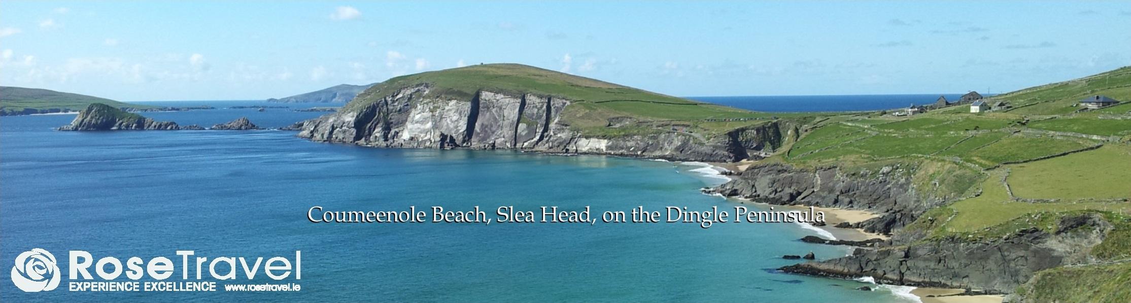 Coumeenole Beach, Slea Head, on the Dingle Peninsula