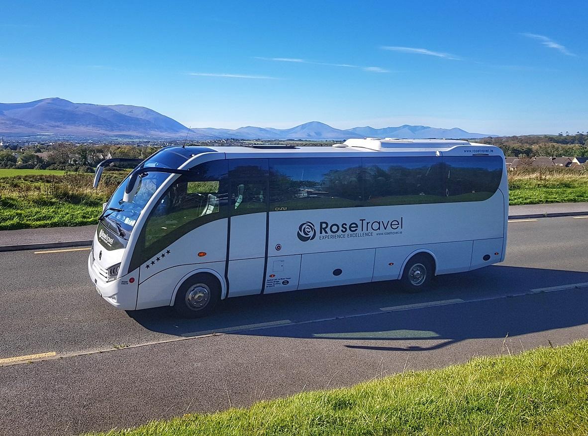Luxury Mercedes Bus Ireland